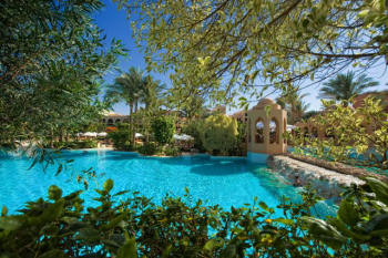 Die Pools des Makadi Palace